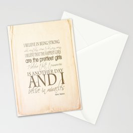 I believe in Miracles  Stationery Cards