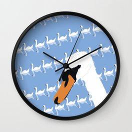 The Swan Gallery Giftshop Wall Clock