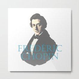 Frederic Chopin Portrait Metal Print