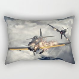 Watch your six! Rectangular Pillow