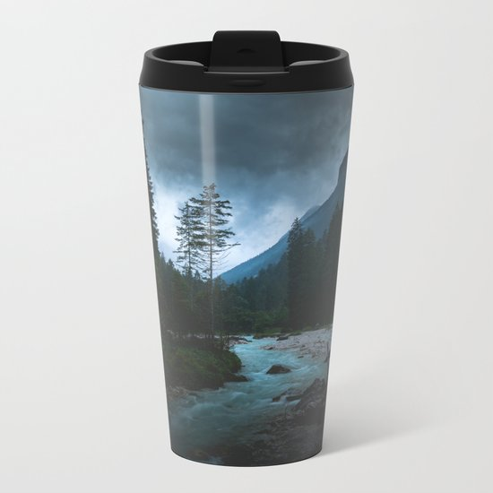 Landscape Mood #creek Metal Travel Mug