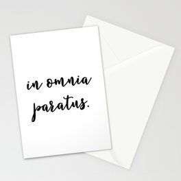 GG - In Omnia Paratus Stationery Cards