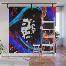 GUITAR MAN:  MUSIC DOESN'T LIE Wall Mural