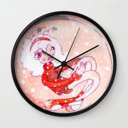 Princess SnowBall Wall Clock