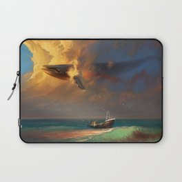 Sorrow for the Whales Laptop Sleeve