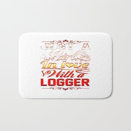 In love with Logger Bath Mat