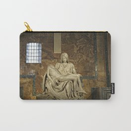 Michelangelo's Pieta in St. Peter's Basilica                                              Carry-All Pouch