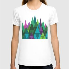 Jewel Toned Mountain Range T-shirt
