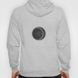 Being in the wrong place doesn't stop you from doing the right thing Hoody