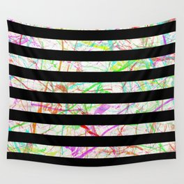 Marble, Stripes And Colour Wall Tapestry