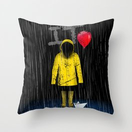IT is back Throw Pillow
