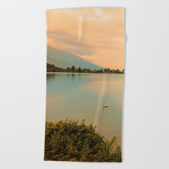 Autumn Glance Beach Towel