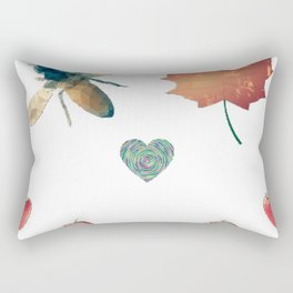 Happy Logo Rectangular Pillow