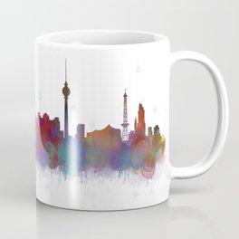 Berlin City Skyline HQ4 Coffee Mug