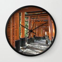 Fushimi Inari-taisha Shrine, Kyoto Wall Clock