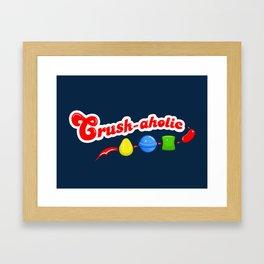 Crush-aholic Framed Art Print