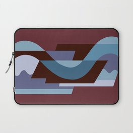 SUISSE - Art Deco Modern: BALORAMA LOUNGE Laptop Sleeve