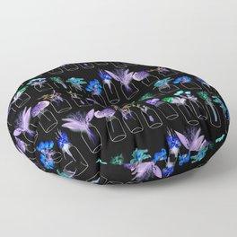Extraterrestrial Botanicals Floor Pillow