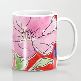 Cosmos in Red Coffee Mug