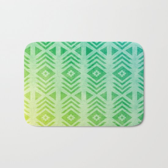 Aztec Pattern 01 Bath Mat