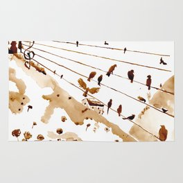 Music of th hills Rug
