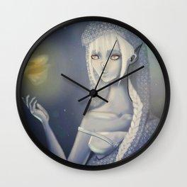Undersea glow Wall Clock