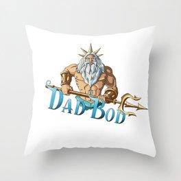Dad Bod Throw Pillow
