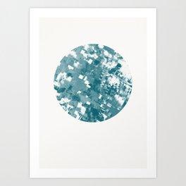 Cool, Calm & Delicate Art Print