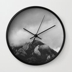 Front Range after the Floods Wall Clock