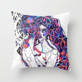 Deep Six Throw Pillow