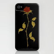 Rose iPhone (4, 4s) Slim Case