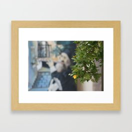Tzfat Street Art Framed Art Print