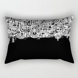 Disorganized Speech #3 Rectangular Pillow