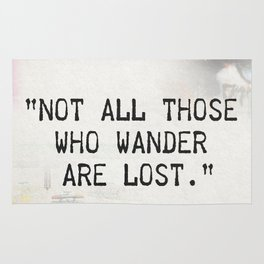 Not all are lost Rug