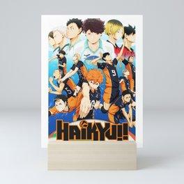 Haikyu Mini Art Print