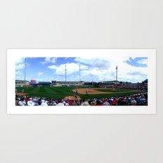 Roger Dean Stadium, Jupiter, FL 2013 Art Print