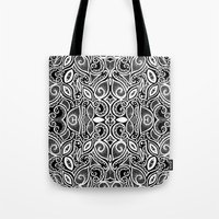 henna Tote Bags featuring Henna Inspired by Sidrah  Mahmood