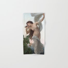 Dawn by William Adolphe Bouguereau (Nude Art) Hand & Bath Towel