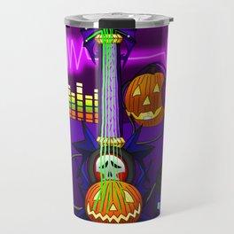 Fusion Keyblade Guitar #25 - Skull Noise & Pumpkinhead Travel Mug