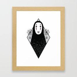 No Face - Hayao Miyazaki's Spirited Away Framed Art Print