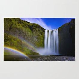 Waterfall, Isle of Skye Rug