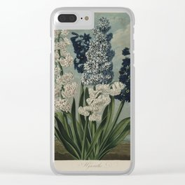Edwards, S. (1768-1819) - The Temple of Flora 1807 - Hyacinths Clear iPhone Case