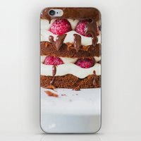 cake iPhone & iPod Skins featuring Cake by Jovana Rikalo