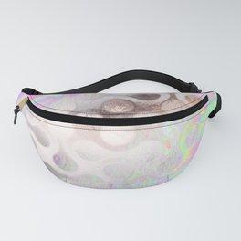 Holographic Iridescent Translucent Art 1 Fanny Pack
