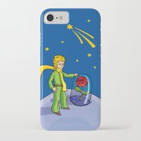 the little prince iPhone & iPod Cases featuring Little prince by Dennis Morgan