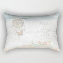 Still, like air, I rise. Rectangular Pillow