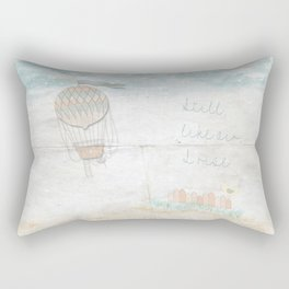 Still, like air, I rise. Rectangular Pillow