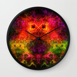 Starburst Family Wall Clock