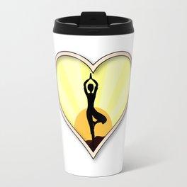 Love Yoga Travel Mug