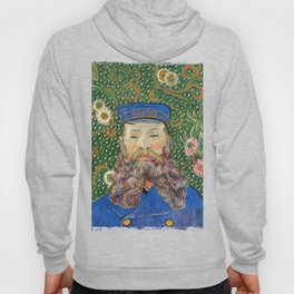 Portrait of the Postman by Vincent van Gogh Hoody